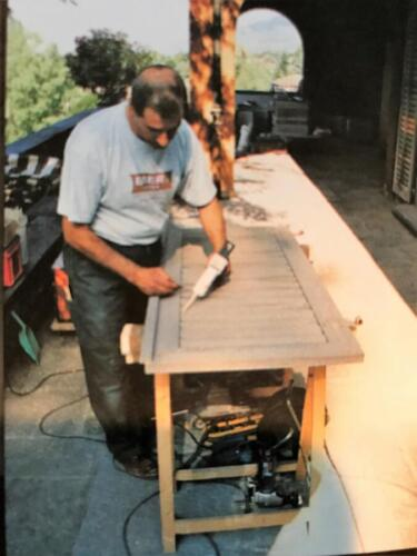masti FIX Holzladen sanieren